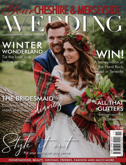 Your Cheshire & Merseyside Wedding November 09, 2018 00:00
