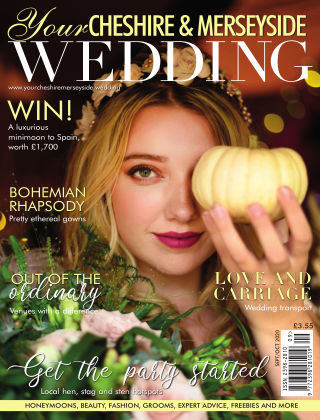Your Cheshire & Merseyside Wedding September/October