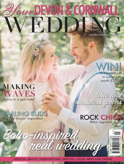 Your Devon & Cornwall Wedding March 01, 2019 00:00