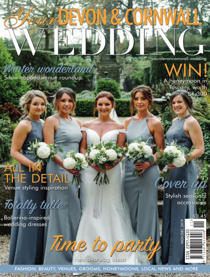 Your Devon & Cornwall Wedding November 01, 2019 00:00