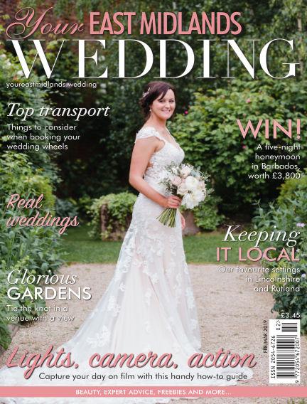Your East Midlands Wedding February 01, 2019 00:00