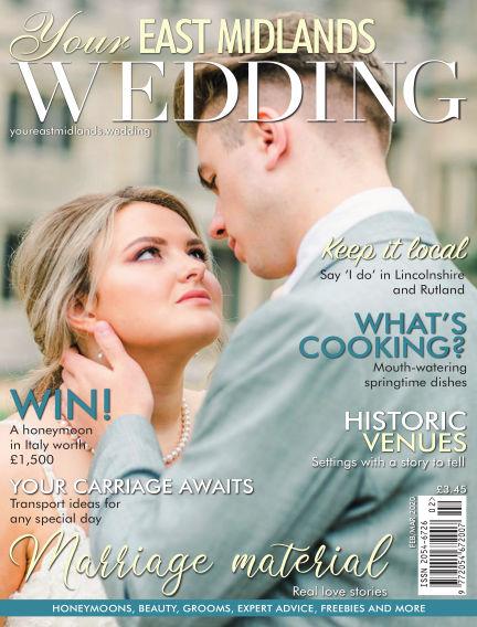 Your East Midlands Wedding February 07, 2020 00:00