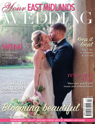 Your East Midlands Wedding Apr/May