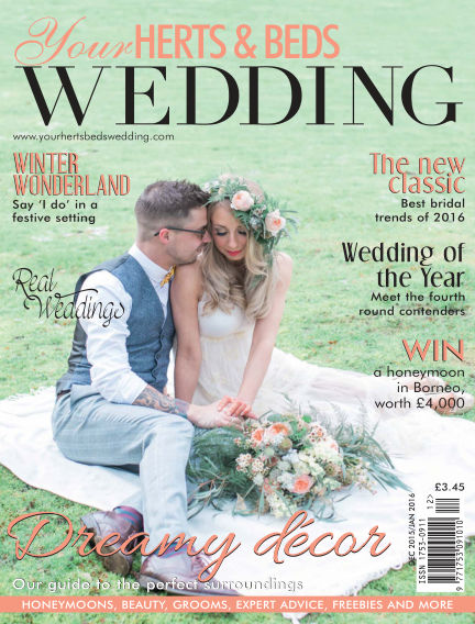 Your Herts & Beds Wedding January 14, 2017 00:00