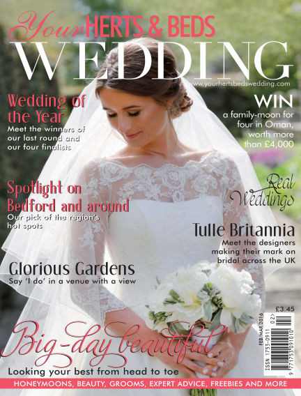 Your Herts & Beds Wedding January 15, 2017 00:00