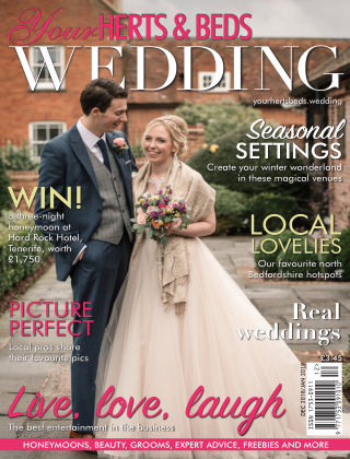 Your Herts & Beds Wedding December January