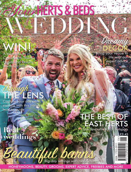 Your Herts & Beds Wedding May 31, 2019 00:00