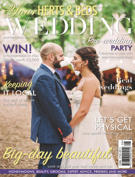 Your Herts & Beds Wedding August 09, 2019 00:00