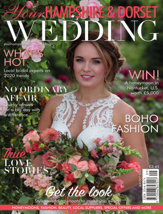 Your Hampshire & Dorset Wedding September/October