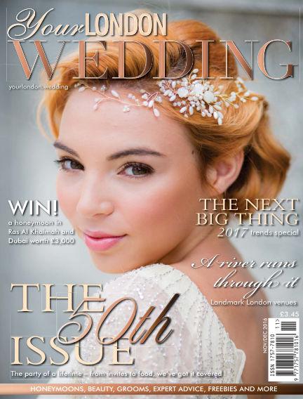 Your London Wedding January 22, 2017 00:00