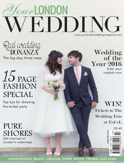 Your London Wedding January 18, 2017 00:00