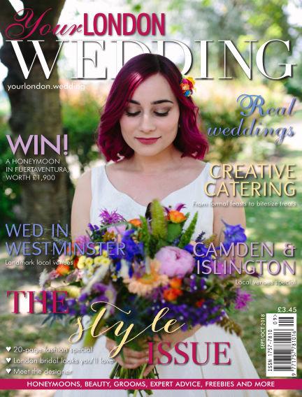 Your London Wedding September 07, 2018 00:00