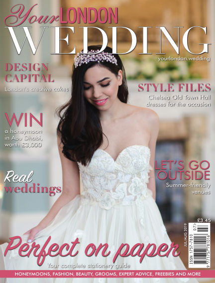 Your London Wedding July 05, 2019 00:00
