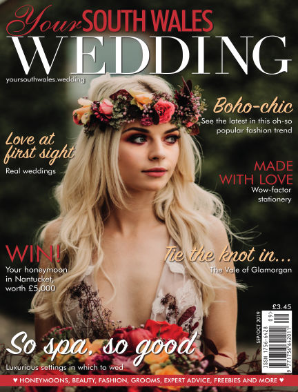 Your South Wales Wedding September 06, 2019 00:00