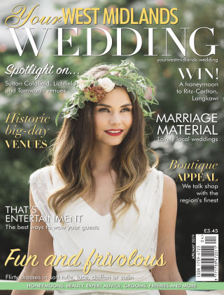 Your West Midlands Wedding April May 2019