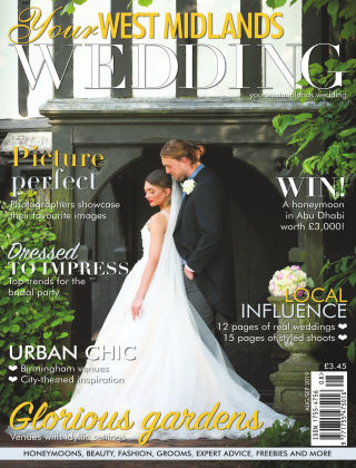 Your West Midlands Wedding Aug Sept 2019