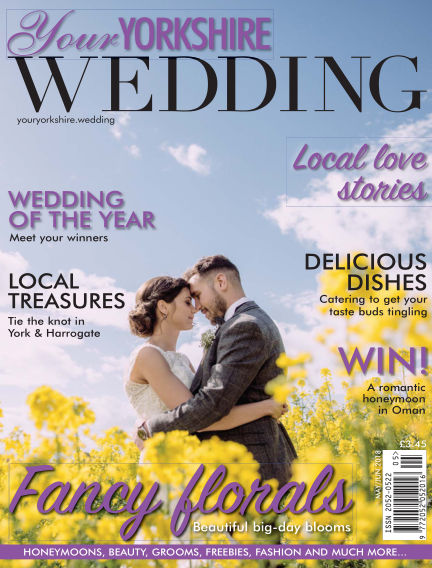 Your Yorkshire Wedding May 04, 2018 00:00