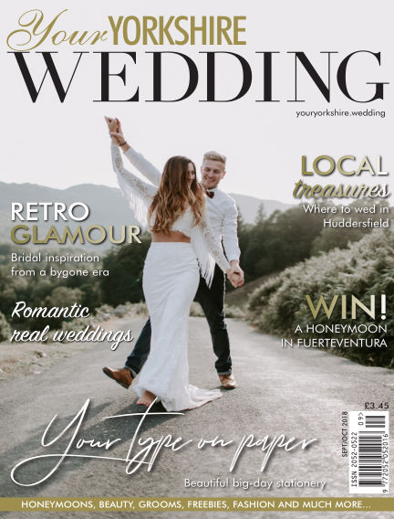 Your Yorkshire Wedding September 07, 2018 00:00