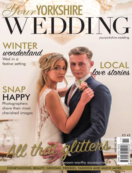 Your Yorkshire Wedding November 09, 2018 00:00