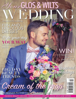 Your Glos & Wilts Wedding April May 2019