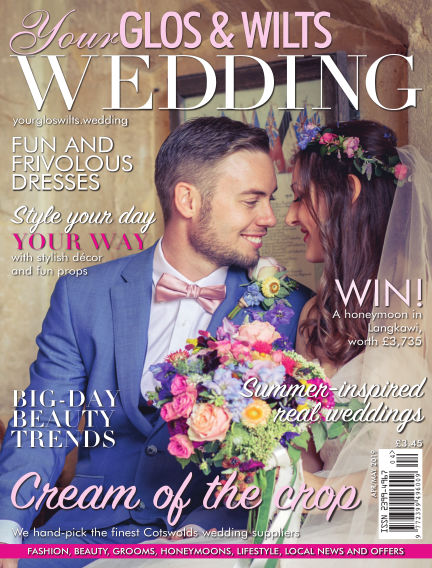 Your Glos & Wilts Wedding March 29, 2019 00:00