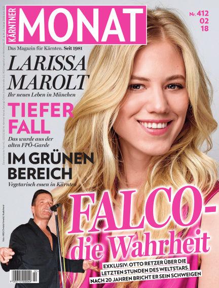 Kärntner Monat February 02, 2018 00:00