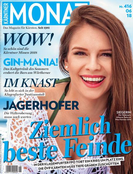 Kärntner Monat June 02, 2018 00:00
