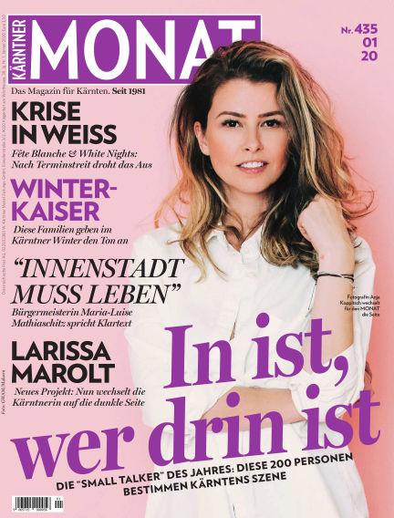Kärntner Monat January 03, 2020 00:00