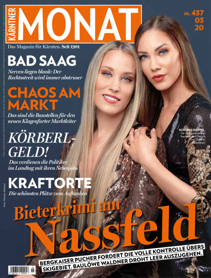 Kärntner Monat February 28, 2020 00:00