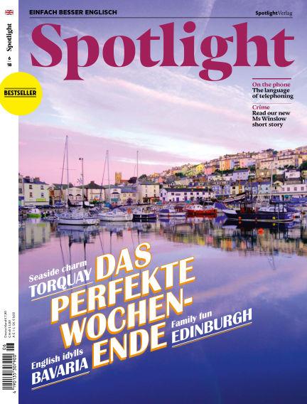 Spotlight - Einfach besser Englisch May 29, 2018 00:00