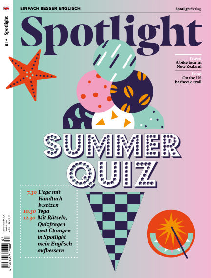 Spotlight - Einfach besser Englisch June 26, 2018 00:00