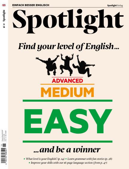 Spotlight - Einfach besser Englisch October 23, 2018 00:00
