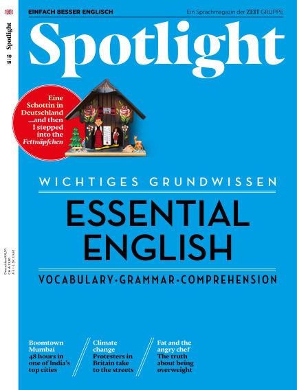 Spotlight - Einfach besser Englisch August 07, 2019 00:00