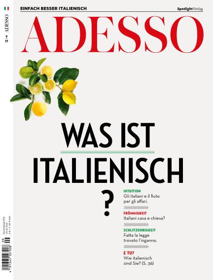 ADESSO - Einfach besser Italienisch August 29, 2017 00:00