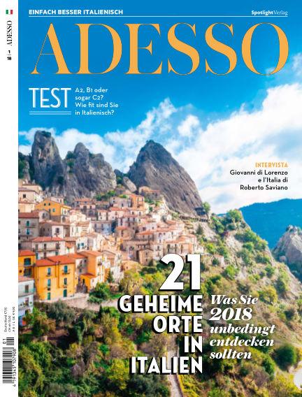 ADESSO - Einfach besser Italienisch December 19, 2017 00:00