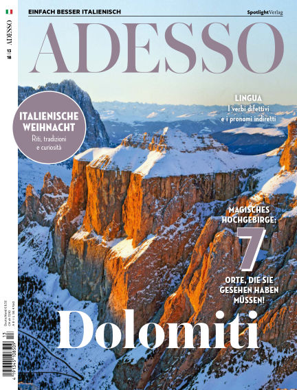 ADESSO - Einfach besser Italienisch November 27, 2018 00:00