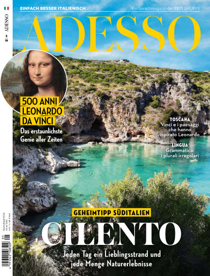 ADESSO - Einfach besser Italienisch April 09, 2019 00:00