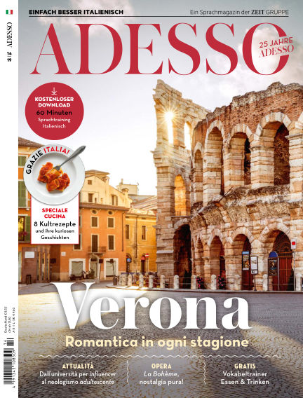 ADESSO - Einfach besser Italienisch November 20, 2019 00:00