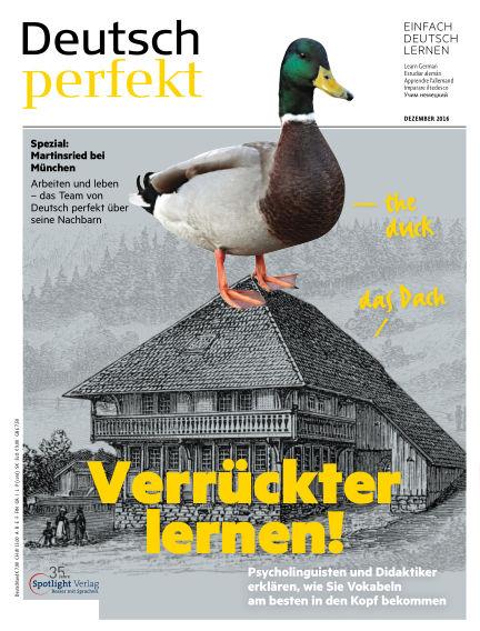 Deutsch perfekt - Einfach besser Deutsch November 23, 2016 00:00