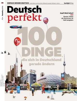 Deutsch perfekt - Einfach besser Deutsch 04/2017