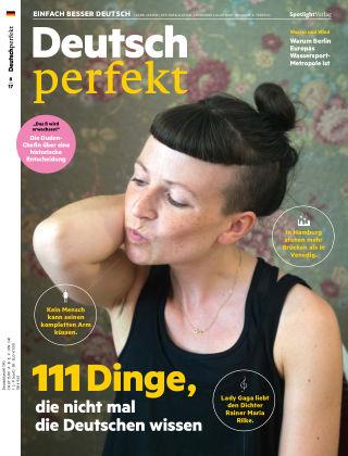 Deutsch perfekt - Einfach besser Deutsch 08/2017