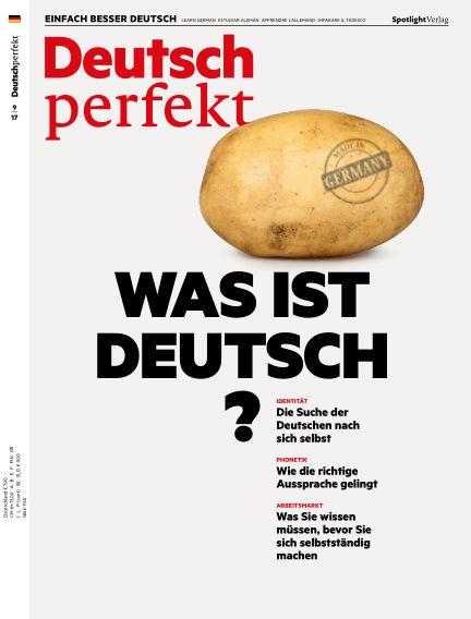 Deutsch perfekt - Einfach besser Deutsch August 29, 2017 00:00