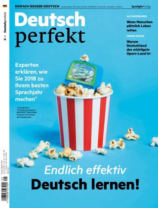 Deutsch perfekt - Einfach besser Deutsch 01/2018