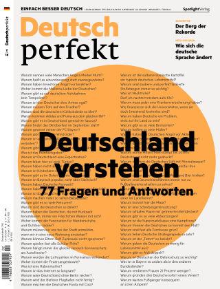 Deutsch perfekt - Einfach besser Deutsch 02/2018