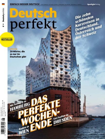 Deutsch perfekt - Einfach besser Deutsch May 29, 2018 00:00