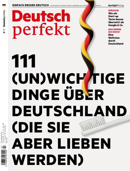Deutsch perfekt - Einfach besser Deutsch June 26, 2018 00:00