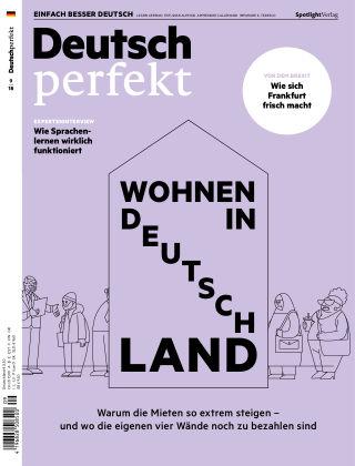 Deutsch perfekt - Einfach besser Deutsch 09/2018