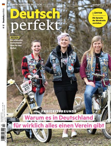 Deutsch perfekt - Einfach besser Deutsch September 25, 2018 00:00