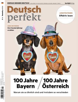 Deutsch perfekt - Einfach besser Deutsch 11/2018