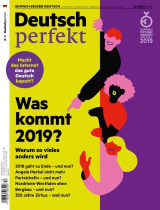 Deutsch perfekt - Einfach besser Deutsch 13/2018